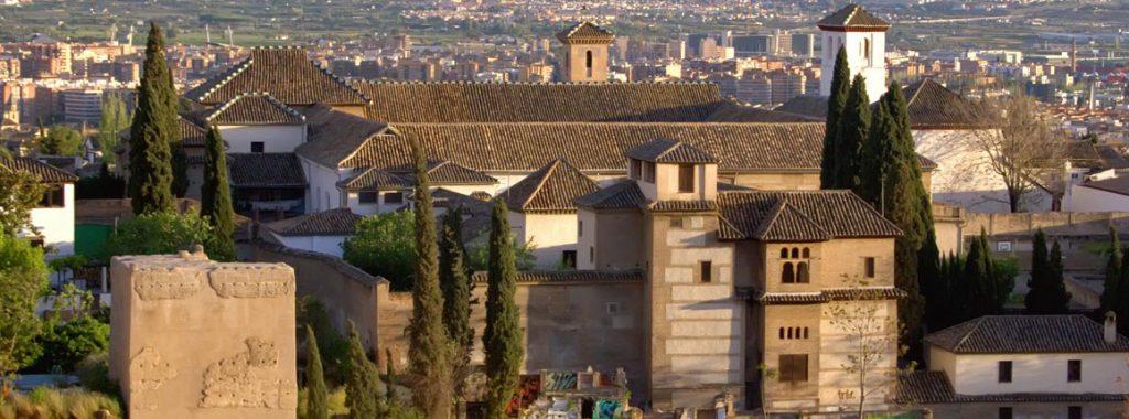 Palacio de Dar al-Horra en el barrio Albayzín de Granada