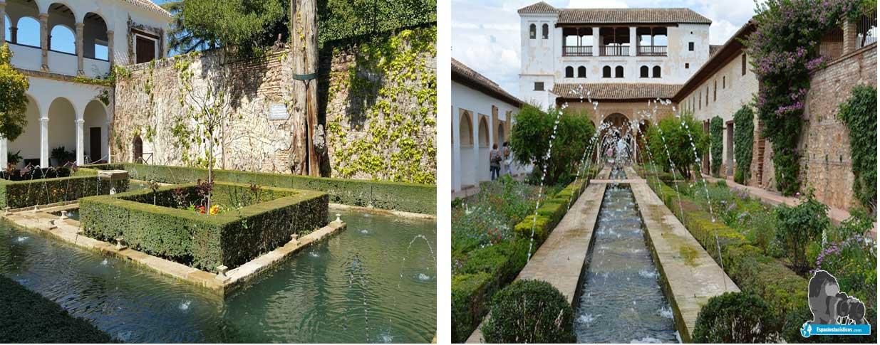 Jardines del Generalife