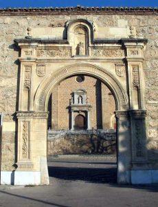 Entrada principal al monasterio de la cartuja de Granada