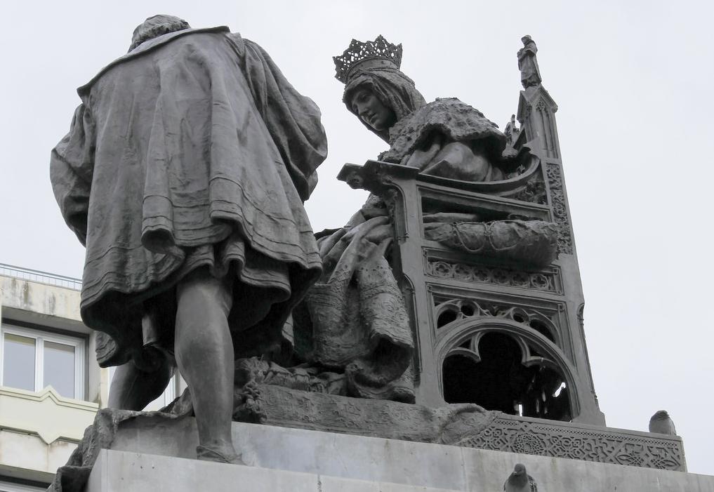 monumento a las capitulaciones en Granada