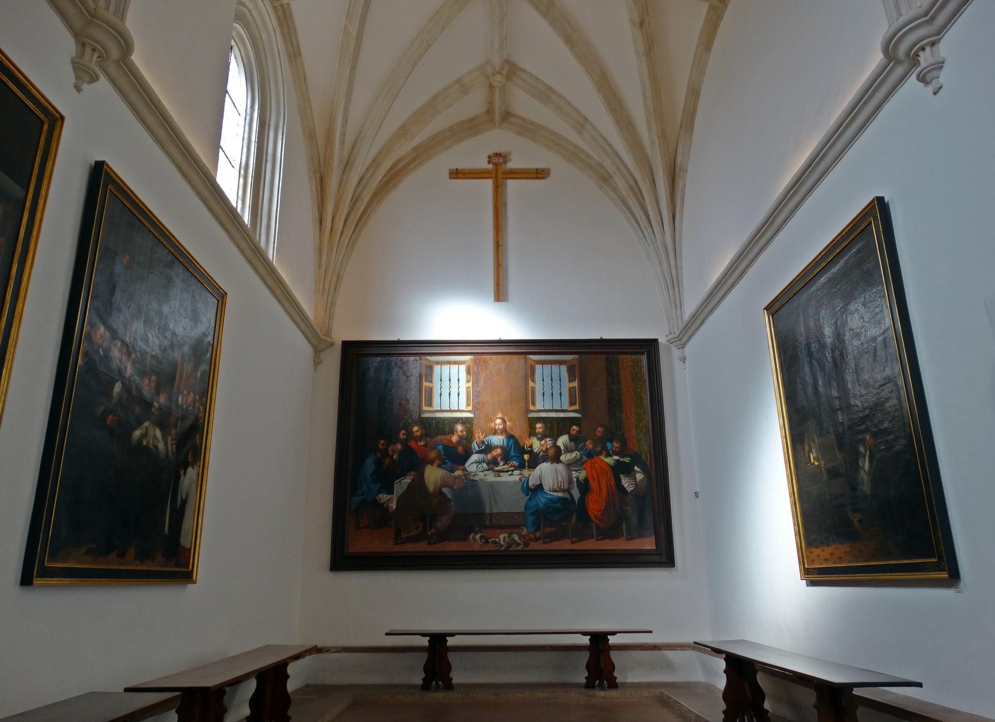 Refectorio del monasterio de la Cartuja