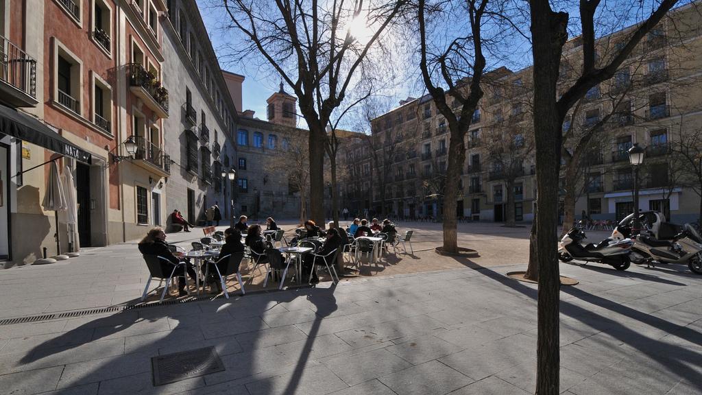 Madrid de los Austrias- Plaza de la Paja