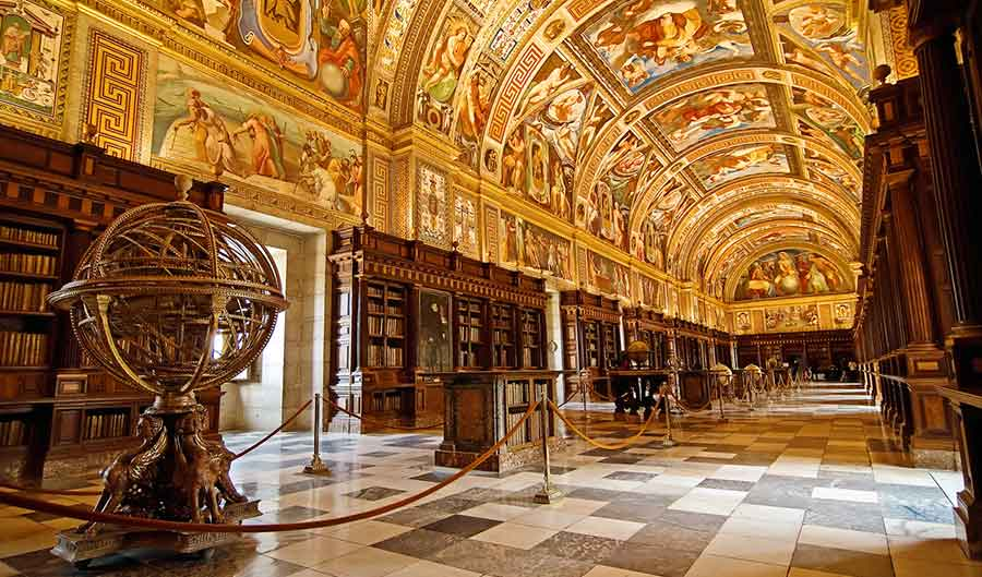 Real Monasterio de San Lorenzo del Escorial: Biblioteca