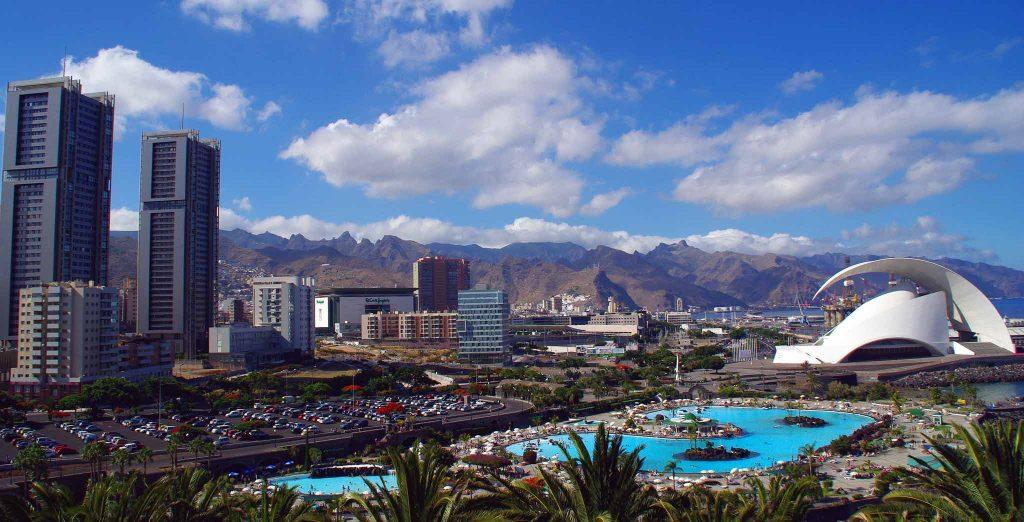 panoramica de Santa Cruz de Tenerife