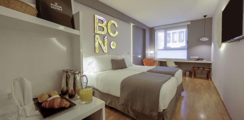 hotel Evenia_Rossello_habitación