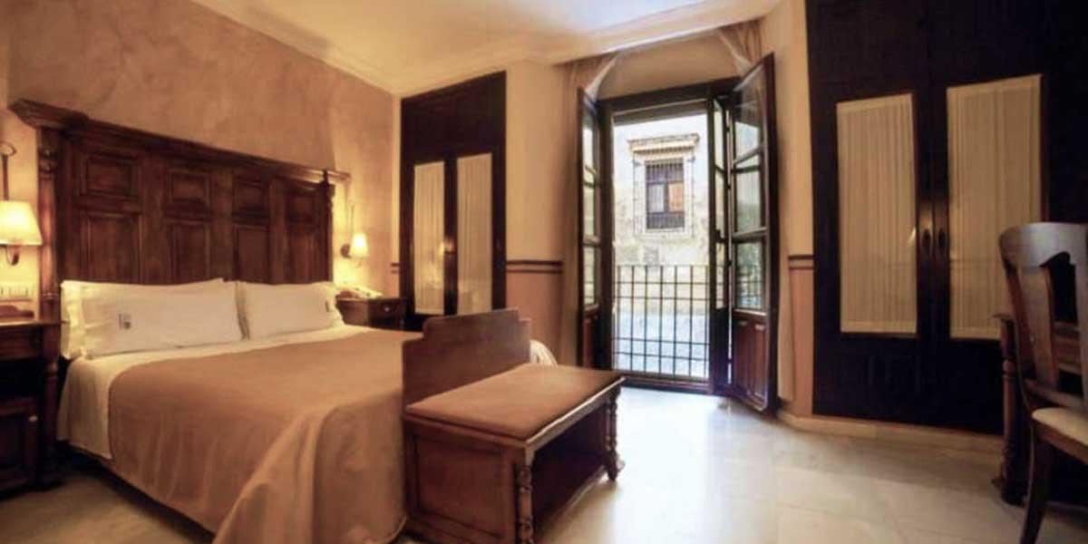 habitación del Hotel Hacienda Posada de Vallina 3* de Córdoba
