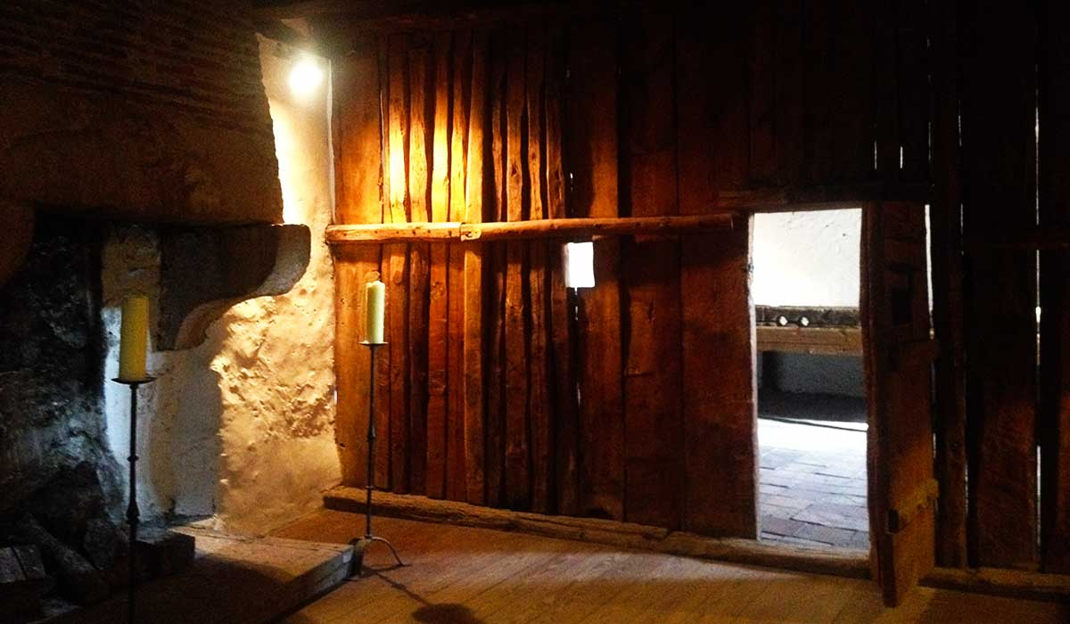 Interior de la Carcel de la villa de Pedraza