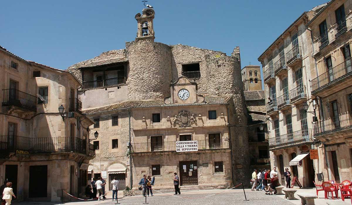 Castillo y plaza Mayor de Sepúlveda