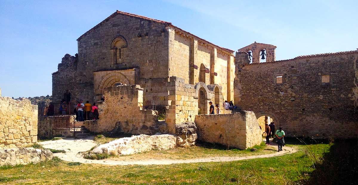 Trasera de la ermita de San Frutos