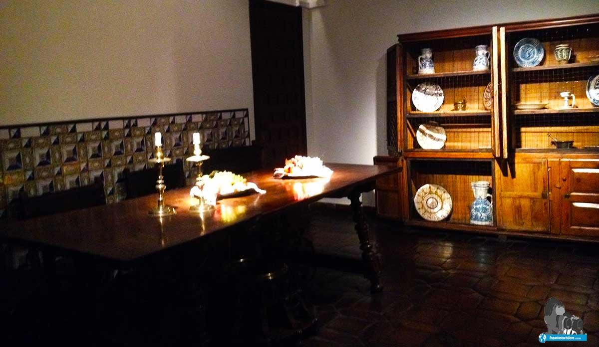 Ruta: Que ver en el museo casa natal de Cervantes / Sala de comer