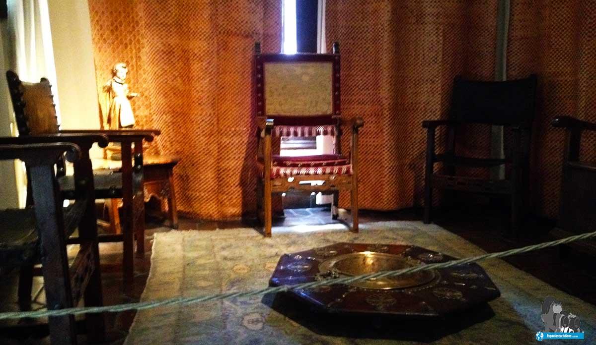 Ruta: Que ver en el museo casa natal de Cervantes / Sala de recibir.