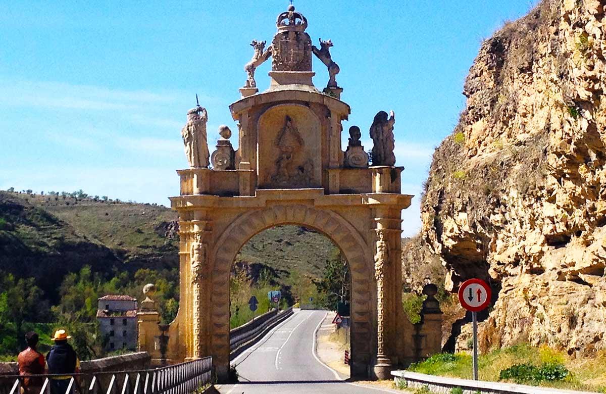 Puerta de Arévalo o Arco de la Fuencisla de Segovia