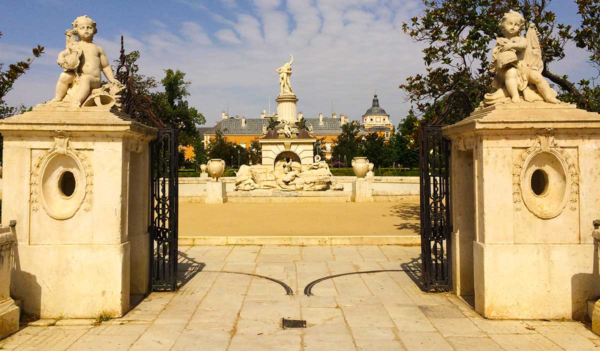 Jardín del Panterre Aranjuez.