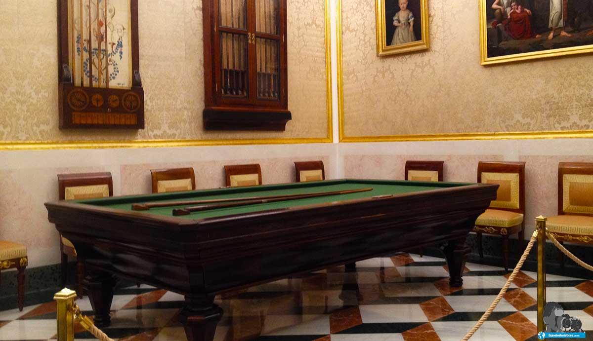 Sala del Billar del Palacio Real de Aranjuez