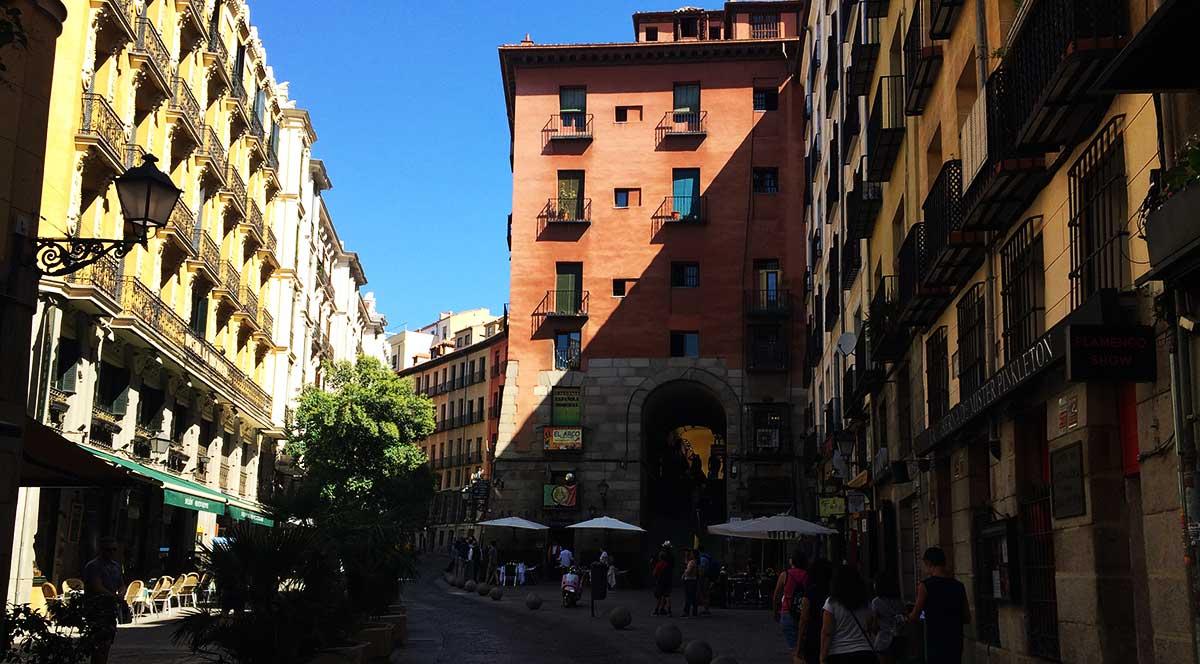 Calle Cuchilleros de Madrid