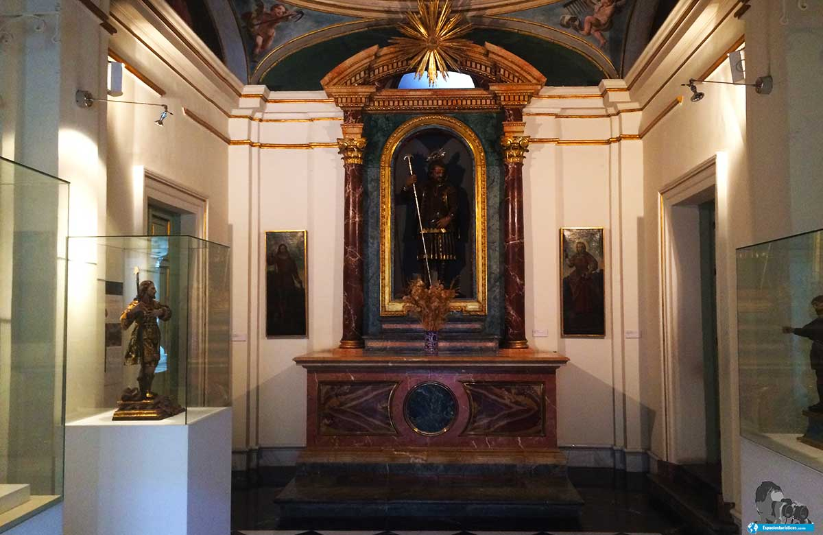 Ruta: Que ver en el Museo Casa de San Isidro. /Capilla del Museo Casa de San Isidro.