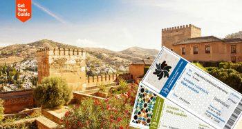 entradas para la Alhambra de Granada