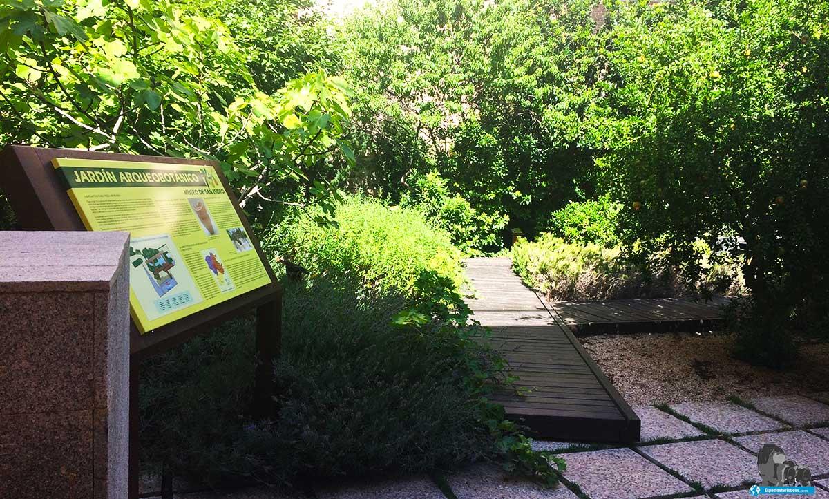 Ruta: Que ver en el Museo Casa de San Isidro. /Jardín arqueobotánico del Museo Casa de San Isidro.