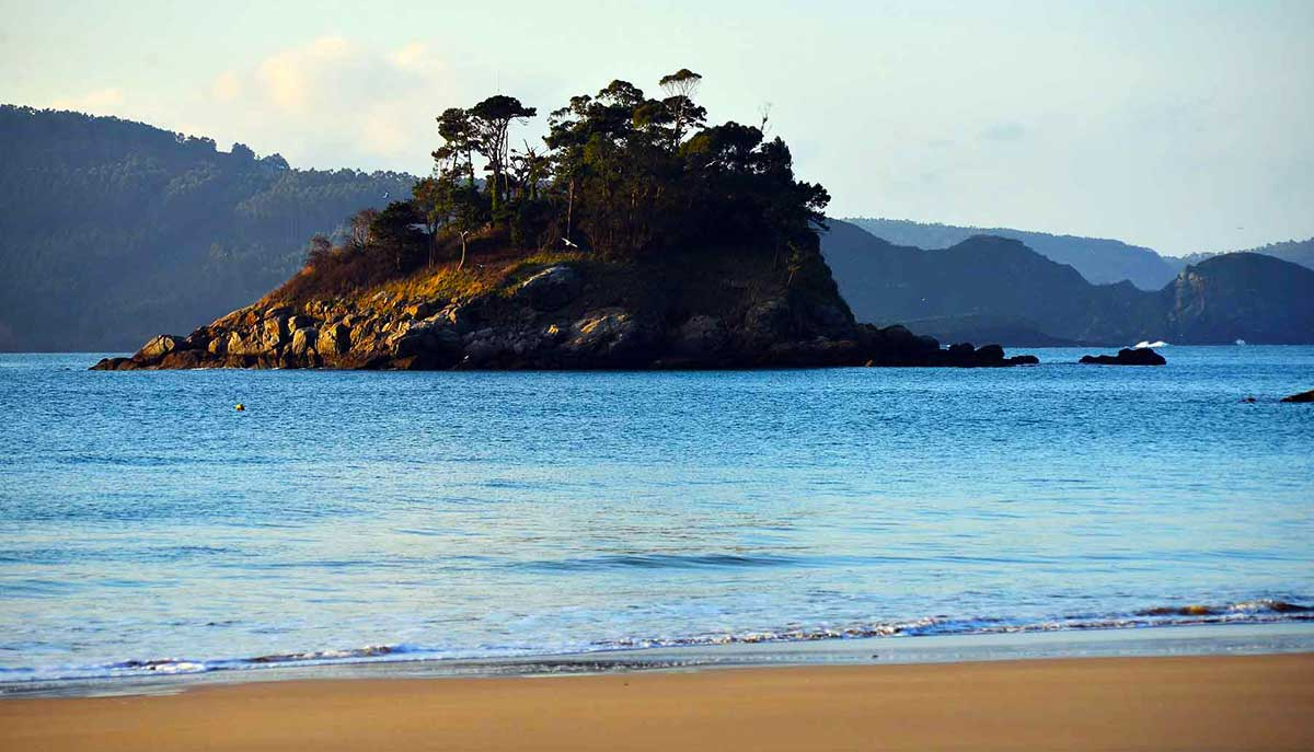 Playa del Sacido en Viveiro