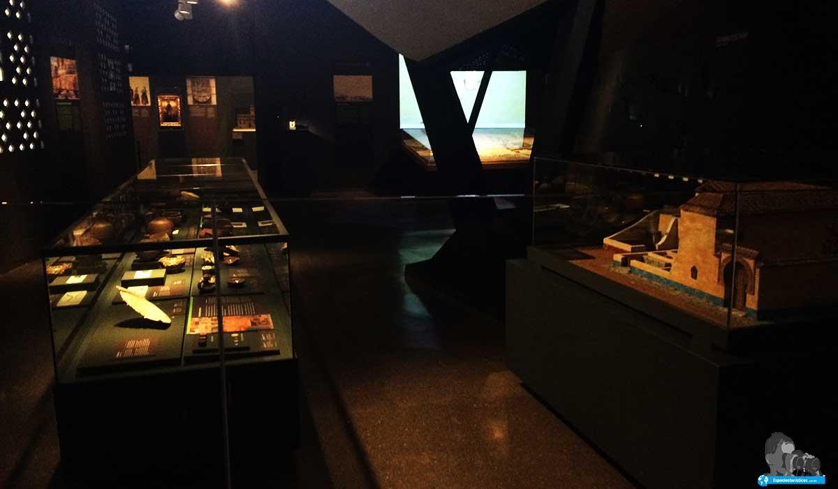 sala Madrid árabe del museo de San Isidro