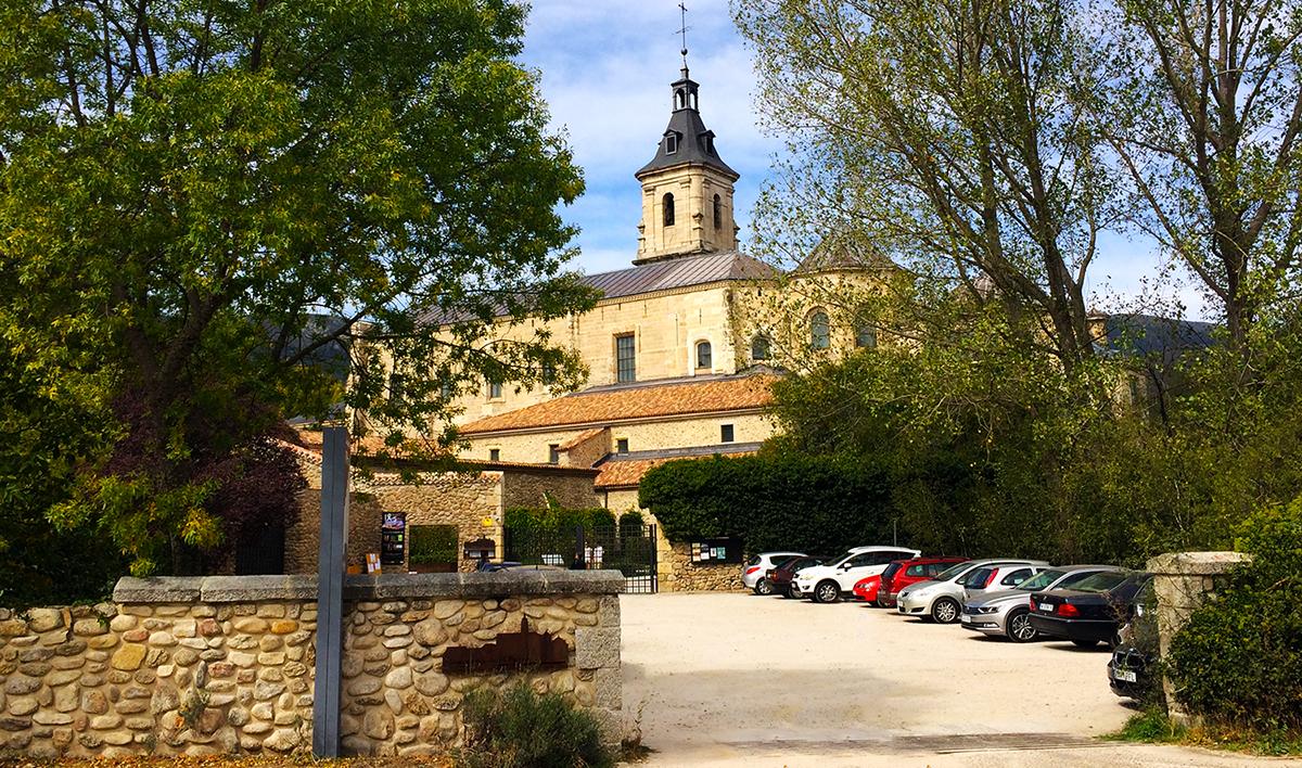Panorámica del Real Monasterio de Santa María del Paular