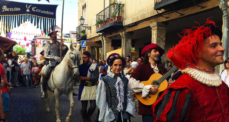 Mercado Cervantino de Alcalá de Henares