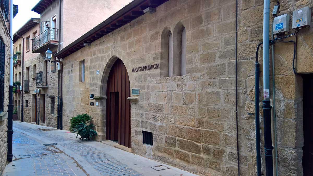 Ruta: Que ver en Laguardia. / Casa Primicia.