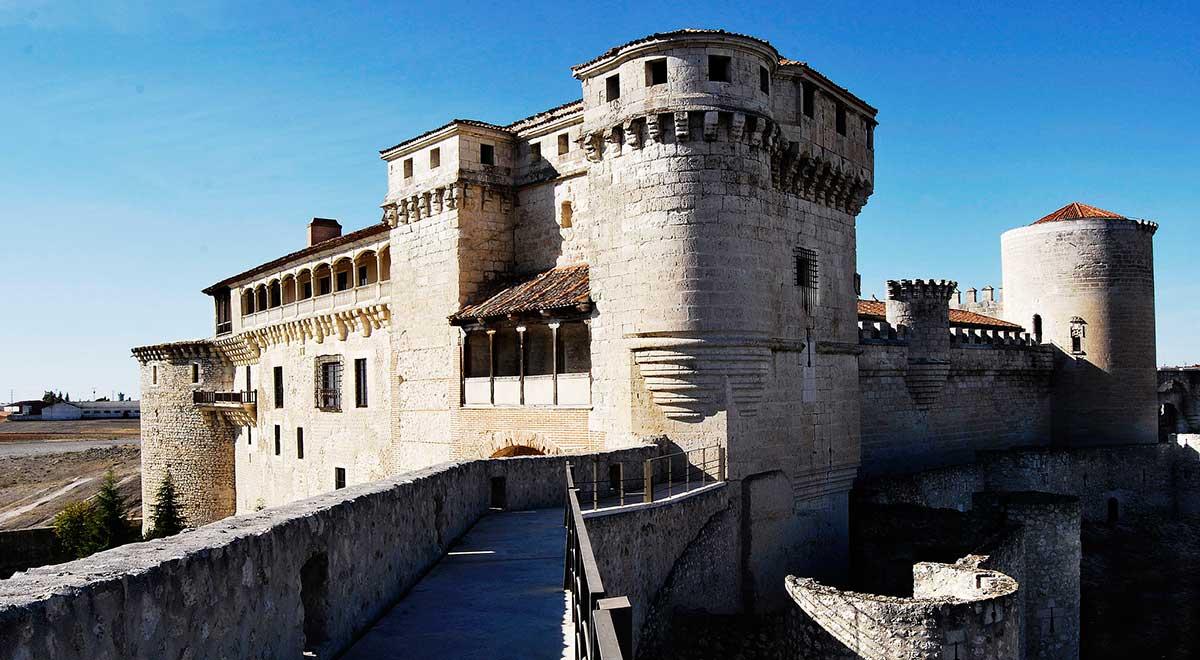 Castillo de los duques de Alburquerque en Cuellar