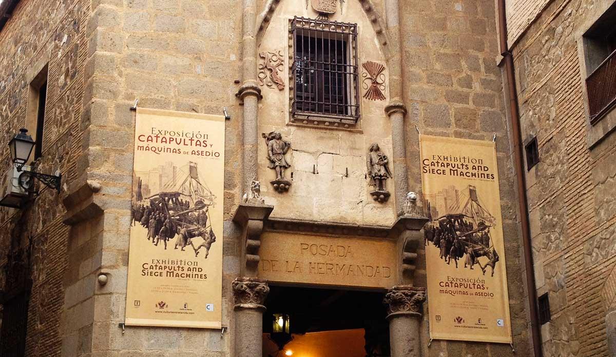 Exposición catapultas y máquinas de asedio de Toledo