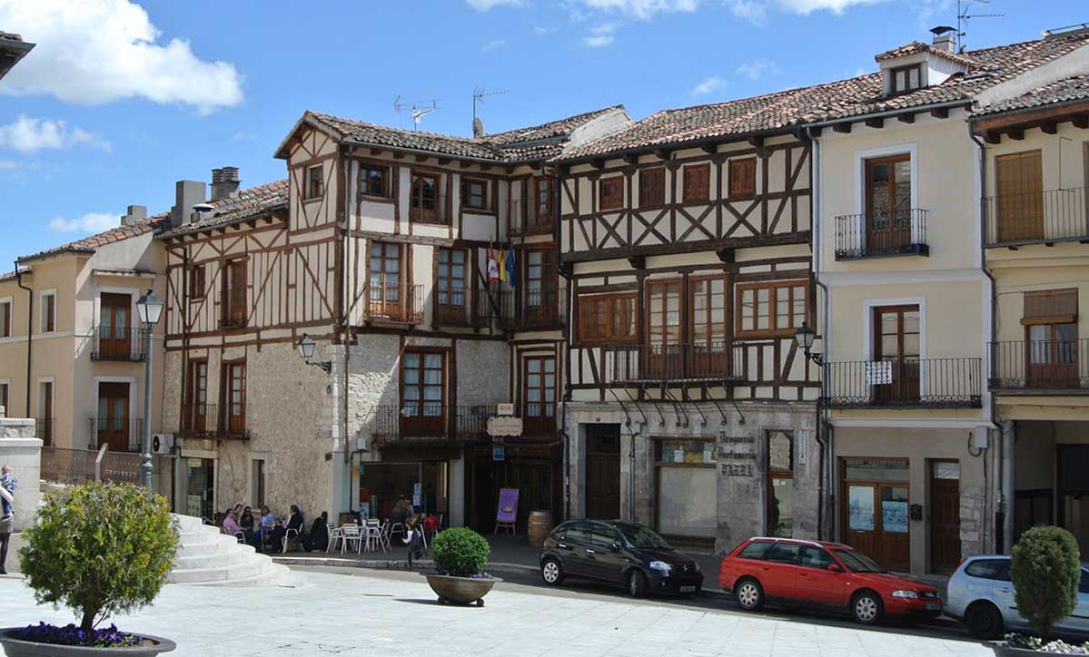 Plaza Mayor de Cuéllar