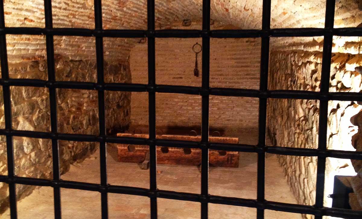 Celda de la cárcel de la Posada de la hermandad de Toledo