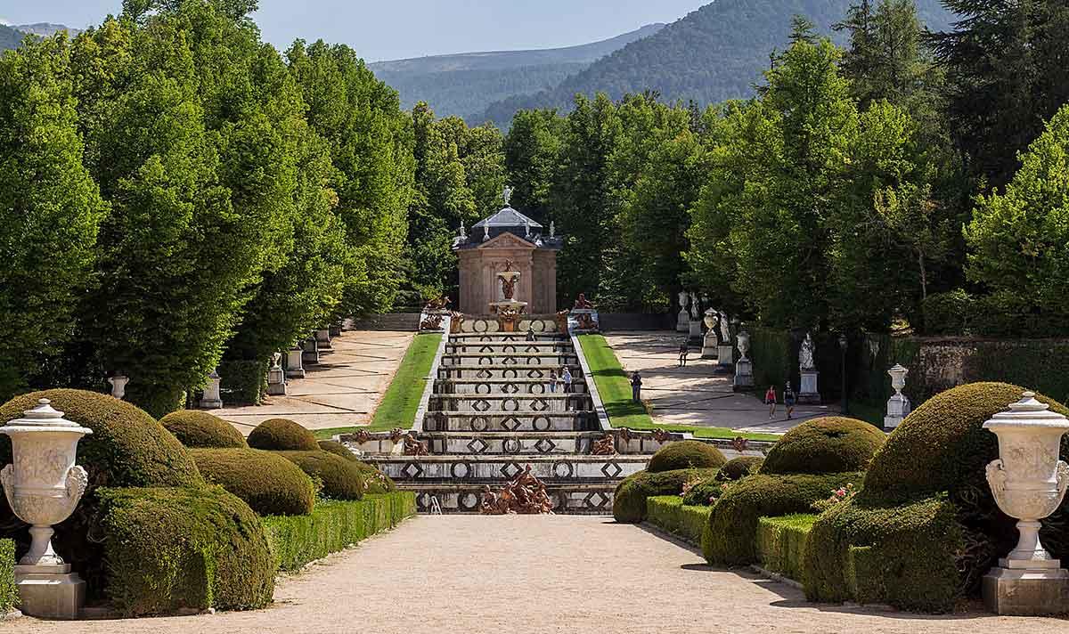 Ruta: Que ver en la Granja de San Ildefonso. / Jardines del Palacio Real De la Granja