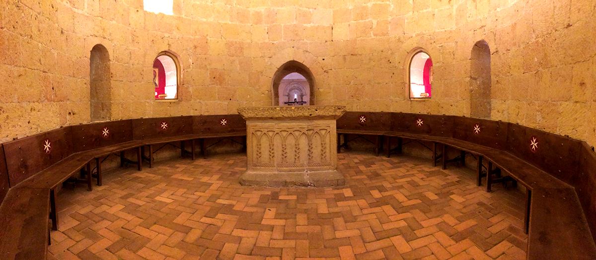 hermita templaria en Segovia