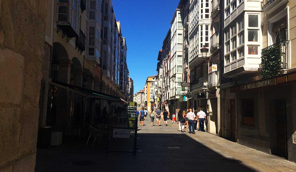 Calle Paloma de Burgos