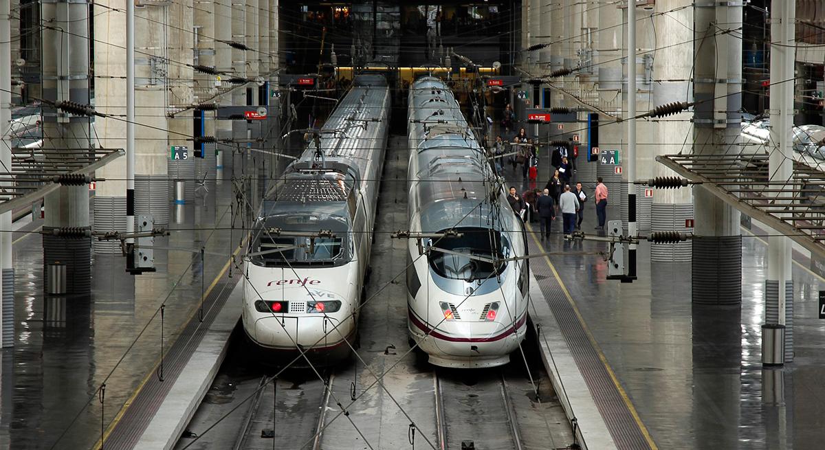 Viajar por ESPAÑA en tren