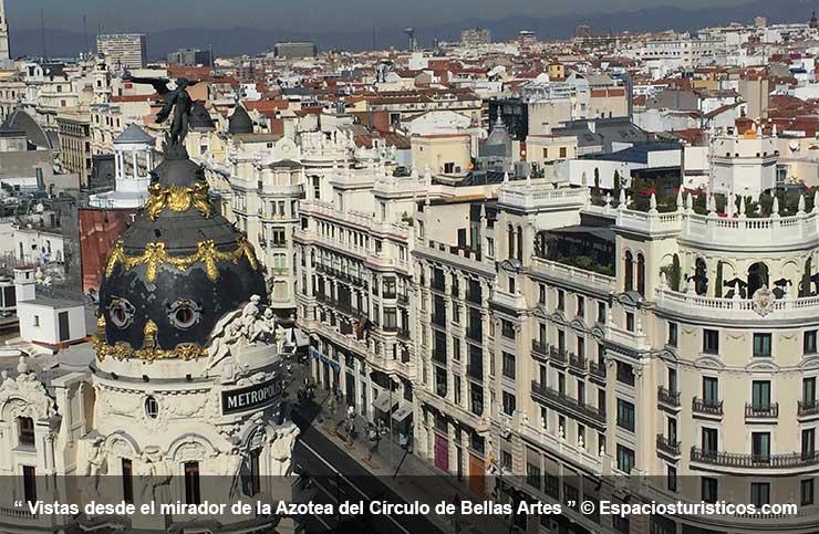 Mirador del Edificio de Círculo de Bellas Artes