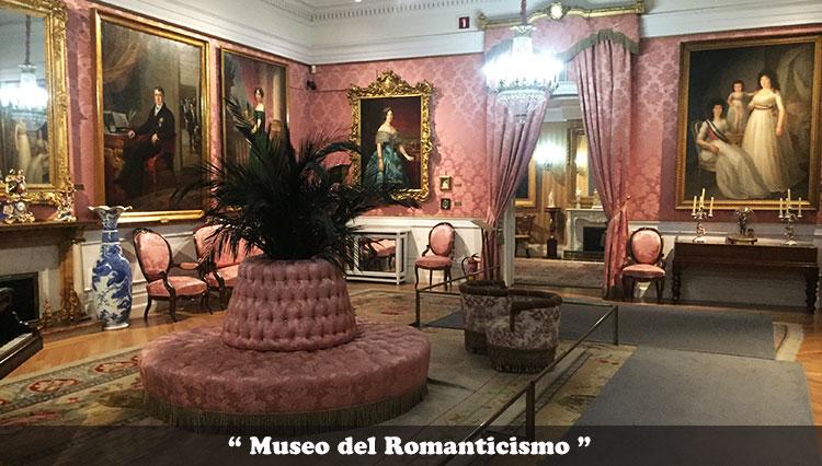 Museo del romanicismo de Madrid
