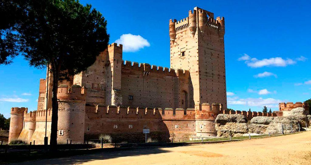 Visitando el Castillo de la Mota