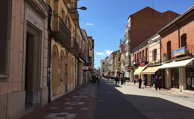 Calle Mayor de Medina delCampo
