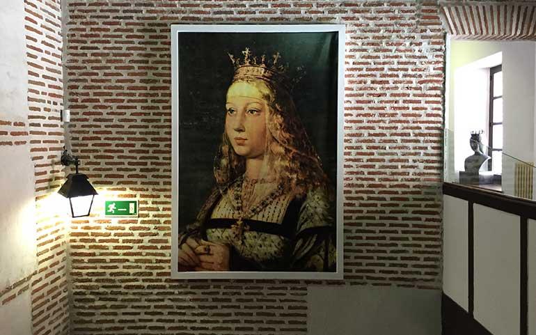 retrato de Isabel la Catolica