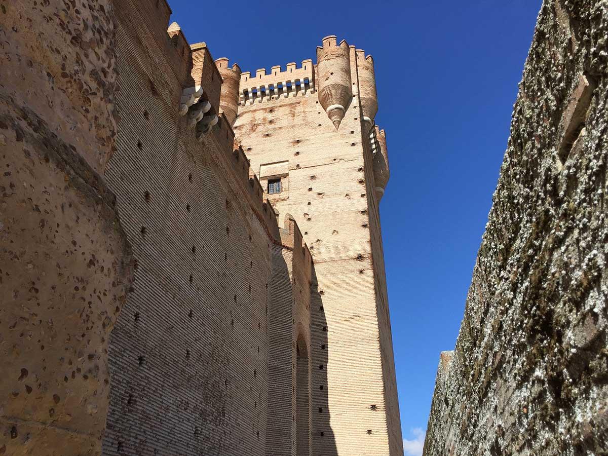 Torre del Homenaje del Castillo de la Mota.