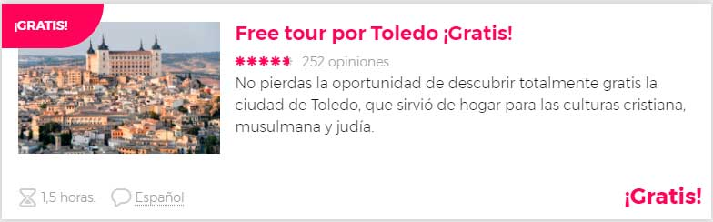 Free tour por Toledo Gratis