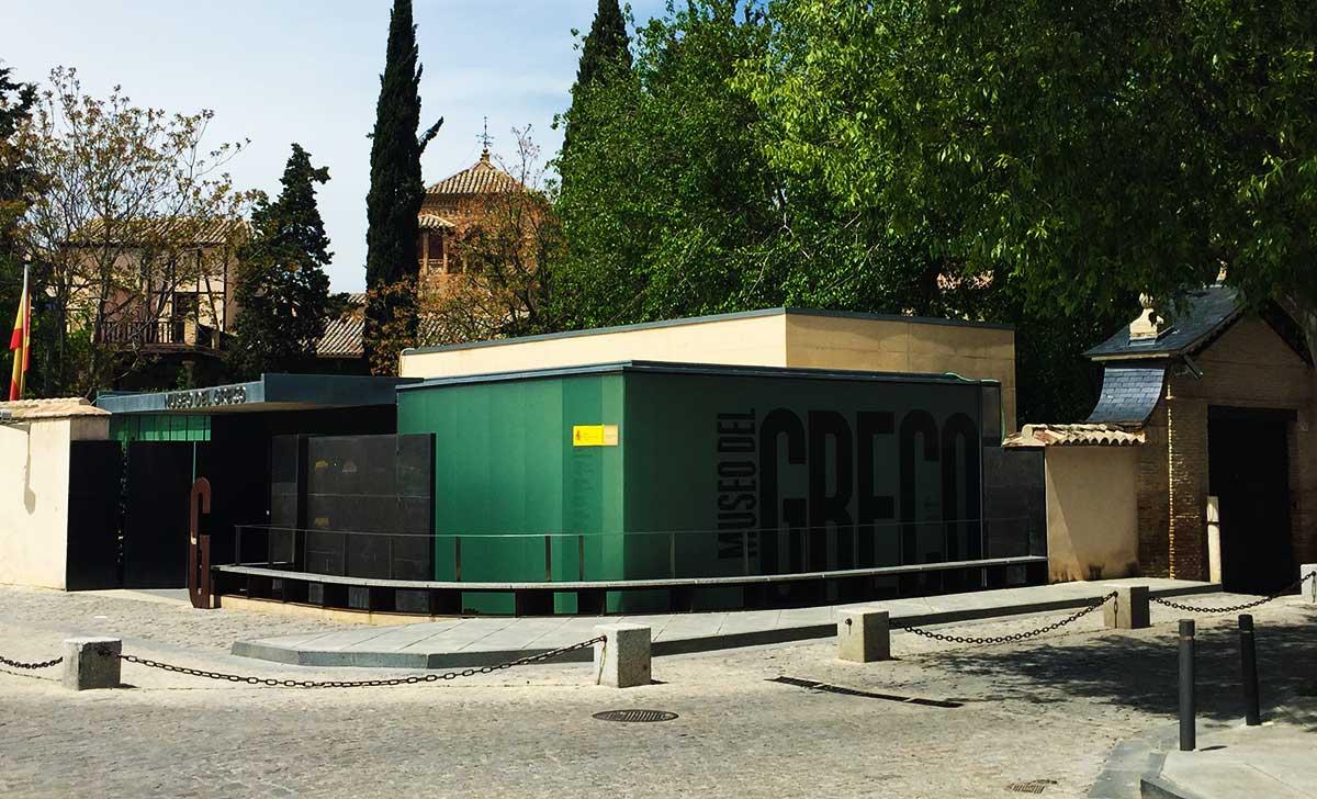 Entrada al Museo del Greco