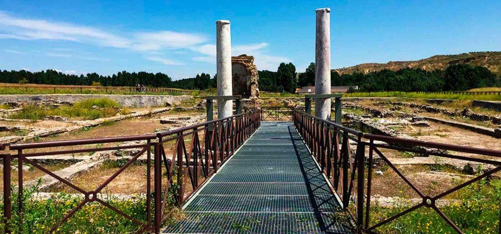que ver en el parque arqueológico de Carranque