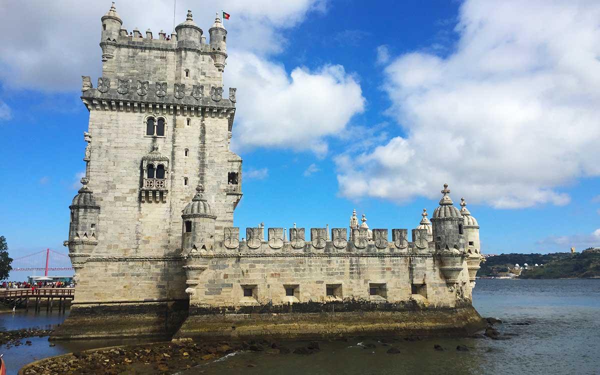 Torre de Belém de Lisboa.