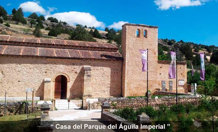 Casa Museo del Parque del águila Imperial en Pedraza
