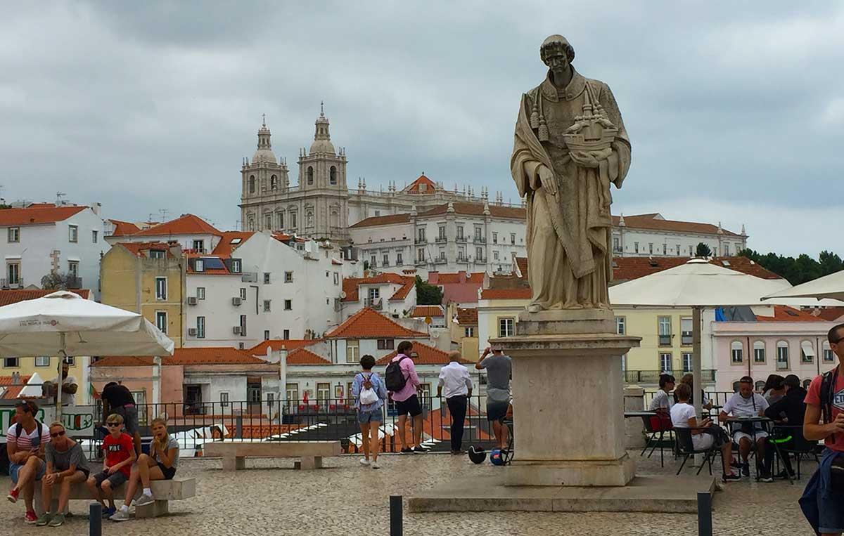 Barrio de la Alfama de Lisboa