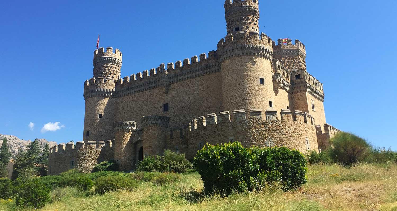que ver en castillo de Manzanares del Real