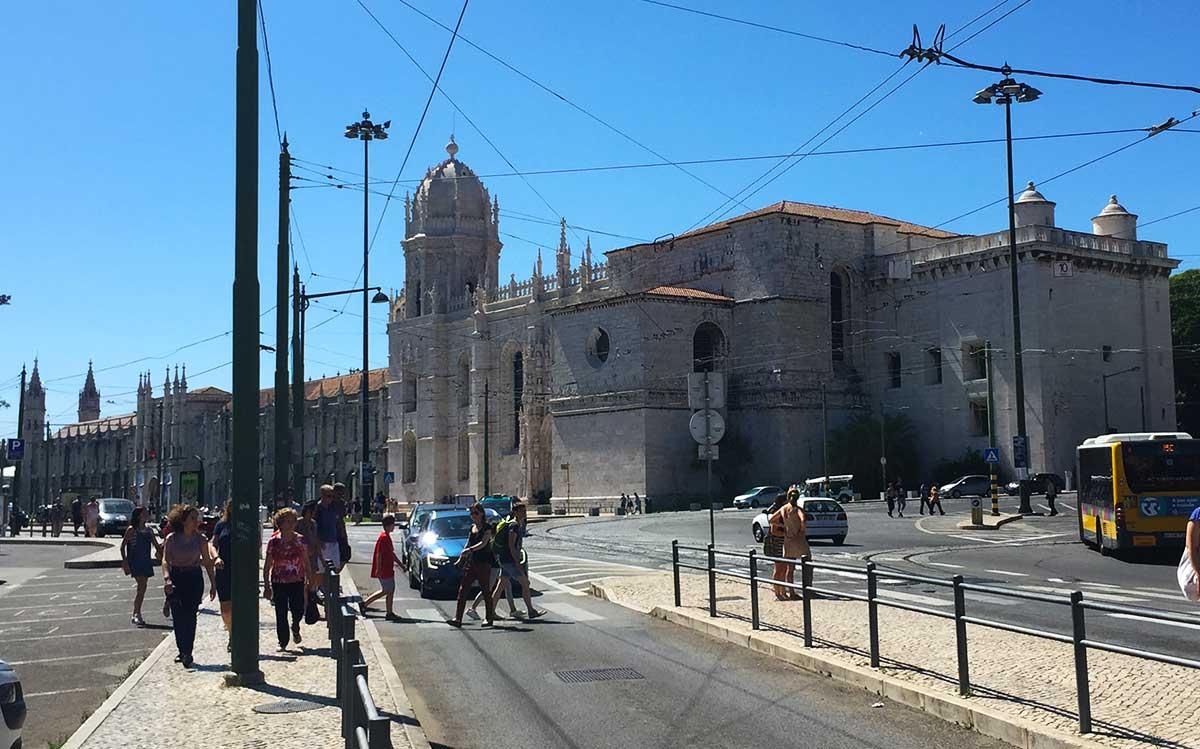 Monasterio de los Jerónimos de Lisboa.