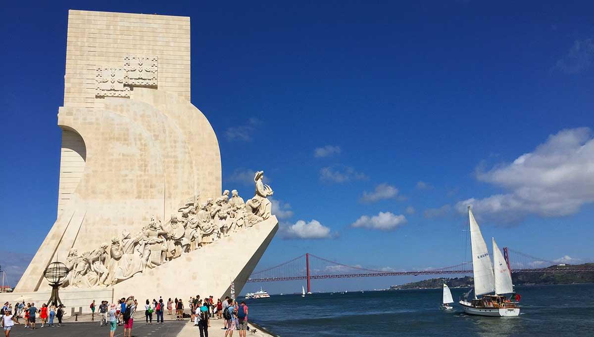 Monumento a los Descubridores de Lisboa.